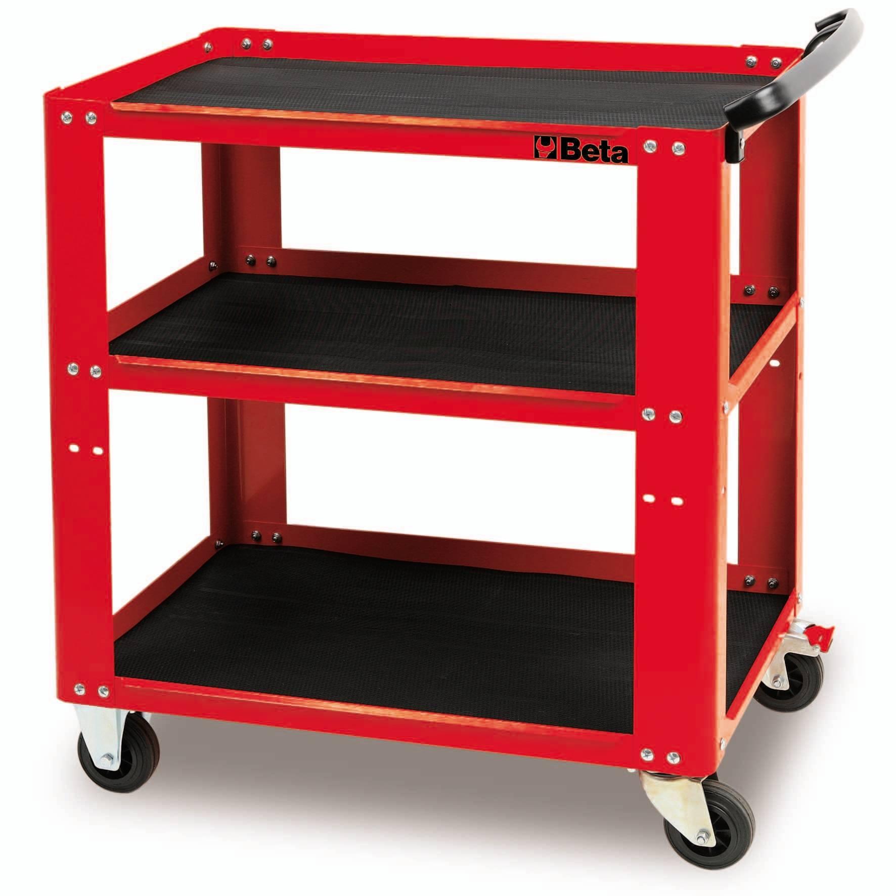 chariot d 39 atelier beta rouge m tallique c51 achat mat riel et quipement de garage auto. Black Bedroom Furniture Sets. Home Design Ideas