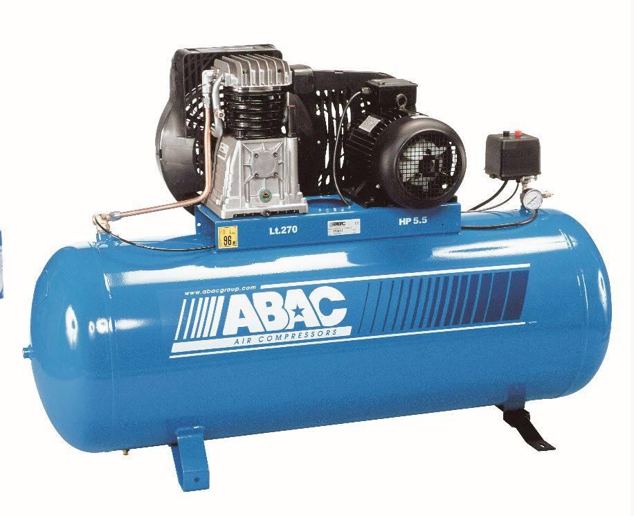 Compresseur piston 270 litres cylindre fonte achat for Compresseur garage automobile