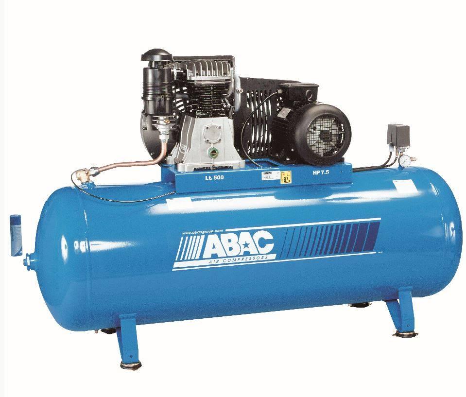 Compresseur piston cylindre fonte 500 litres achat for Compresseur garage automobile