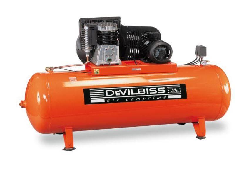 Compresseur pistons e40 5 5 cv 500 litres achat mat riel et quipement de garage auto - Compresseur 500 litres ...