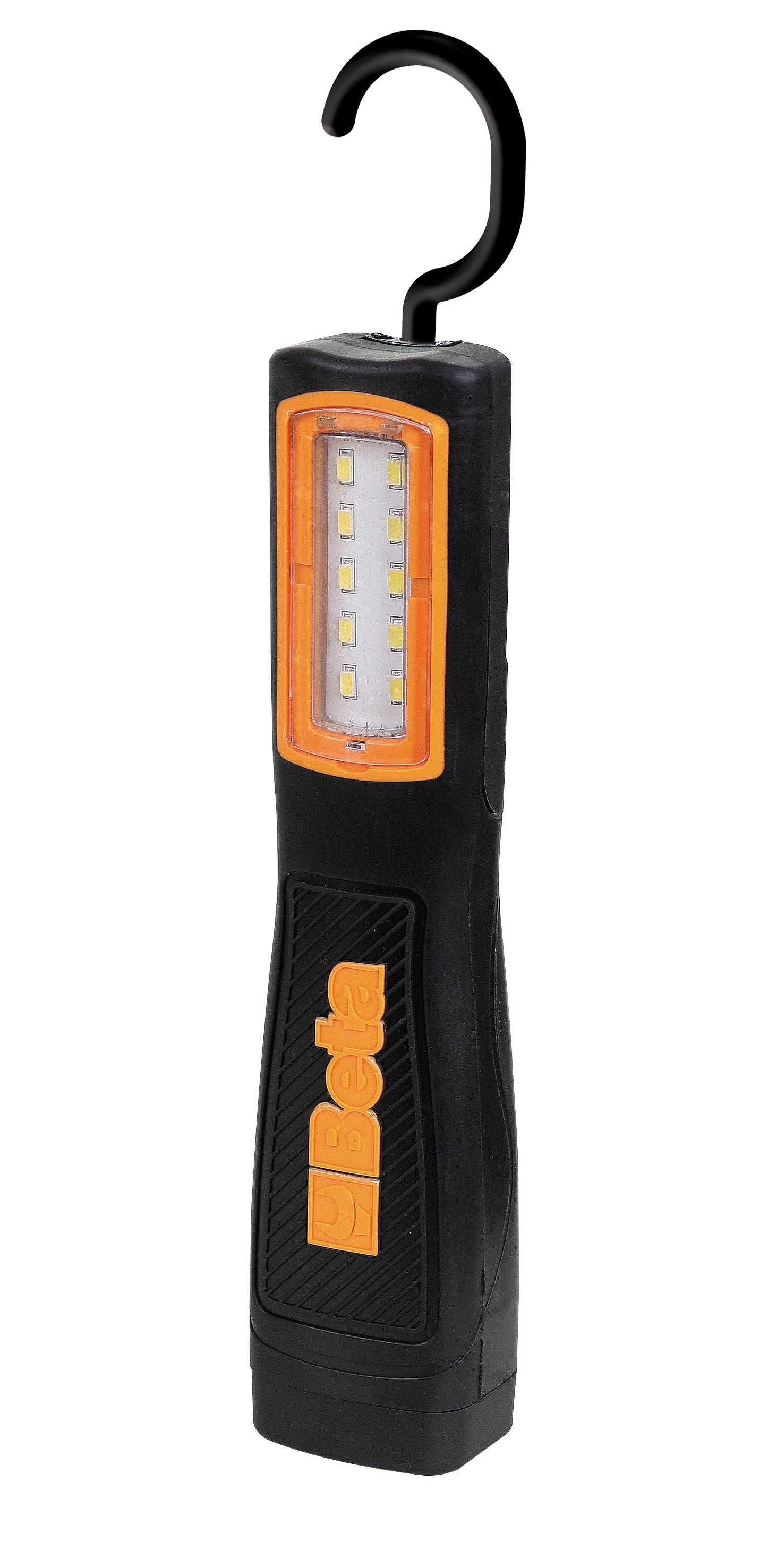 lampe rechargeable compacte led avec batterie au lithium. Black Bedroom Furniture Sets. Home Design Ideas