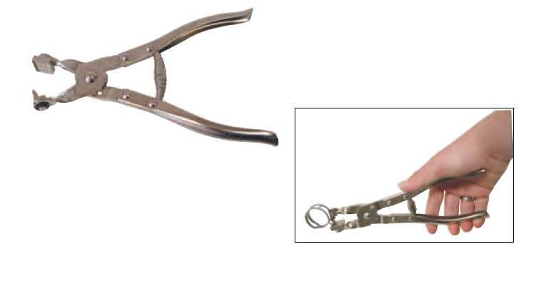TANCUDER 2 PCS Pince pour Collier de Serrage 215mm Pinces de Serrage pour Tuyau Ajustable Pince pour Collier Voiture Pince de Serrage Flexible Auto Pince Flexible pour R/éparation de Voiture