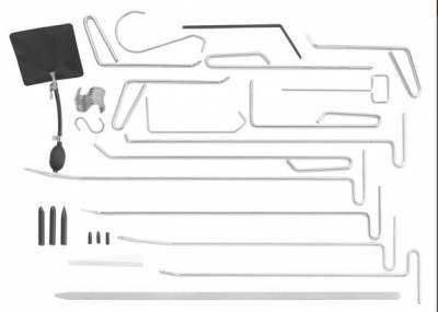 Composition de 34 outils de d�bosselage sans peinture FACOM