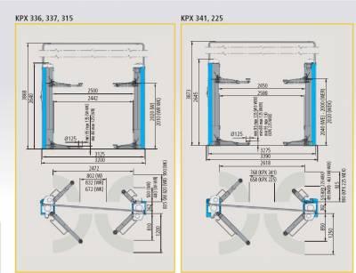 pont l vateur automobile ravaglioli 2 colonnes cardan 3200kg sans base achat mat riel et. Black Bedroom Furniture Sets. Home Design Ideas
