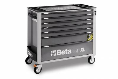 Servante d'atelier BETA 7 tiroirs grise C24 SA-XL7/0